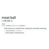 meatball-definition