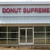 Donut Supreme race-way mounted channel letters