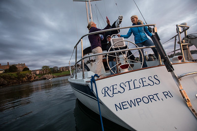 Restless' newport voyage May 20, 2018