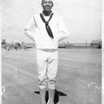 James Hawkins in the US Marines