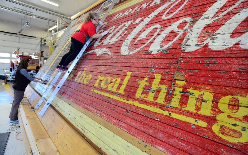 Coca-Cola Mural in Lafayette