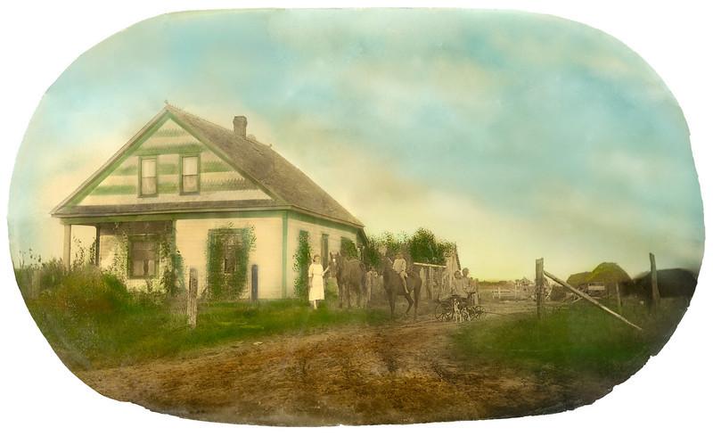 Oklahoma homestead after.