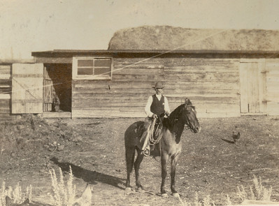 Pioneering Montana Rancher:  Before