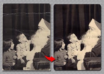 Christmas Image Restoration