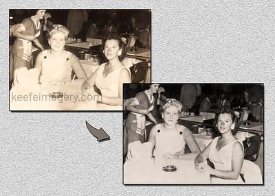 1960's Tarnished Photograph