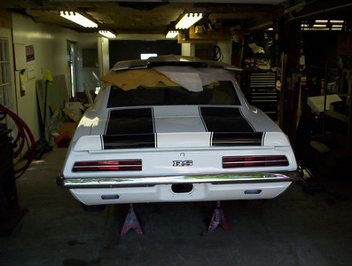 1969 RS/SS  big block car