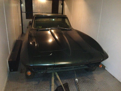 Guy Wilcomb 1967 Corvette mean green