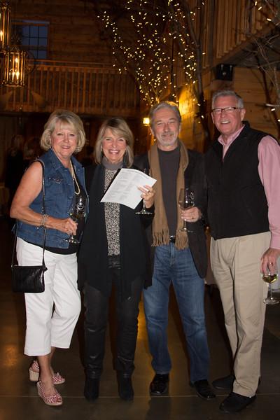 Kathy Moss, Shea Weidner, Gary Weidner, Mike Moss