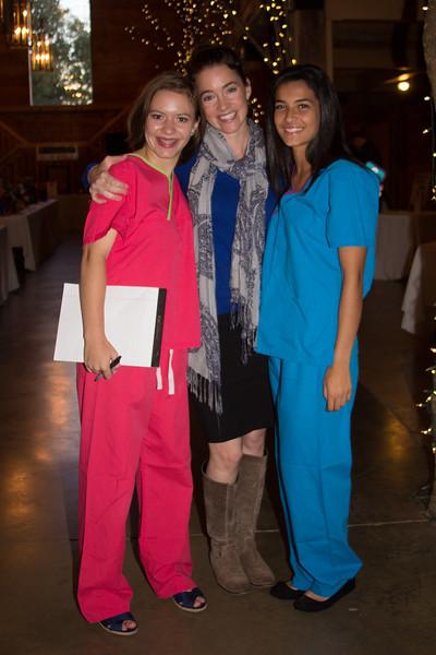 Ellie Jones, Sarah Fennel, Tang Donovan
