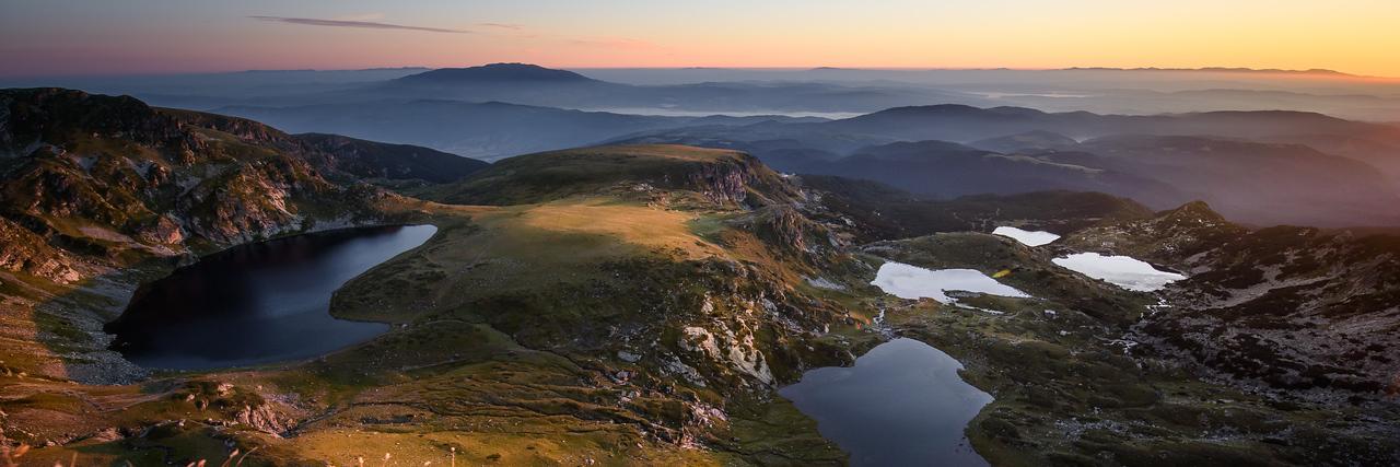 View over Lakes in Rila National Park, Bulgaria
