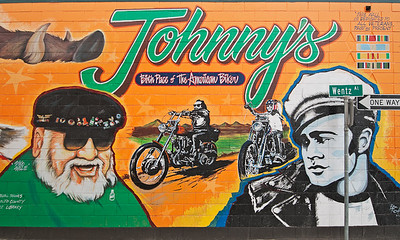 Hollister Johnnys Biker Mural