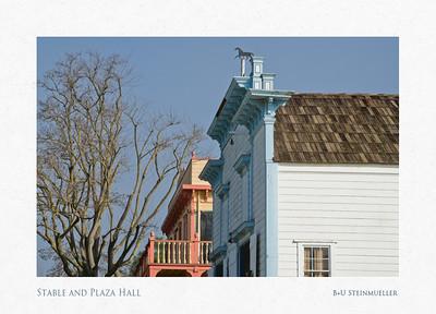 Stable and Plaza Hall