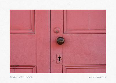 Plaza Hotel Door