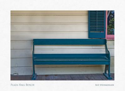 Plaza Hall Bench