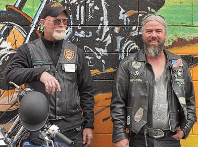 Bikers at Johnny's (Leica 50mm)