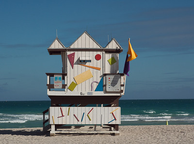 Miami Life Guard Station