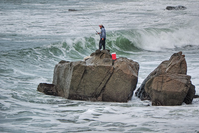 Fishing on the Rocks