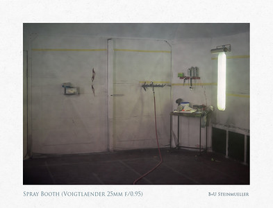 Spray Booth (Voigtlaender 25mm f/0.95)