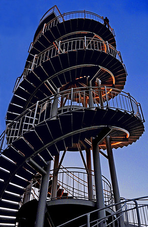 DNA Tower - Phil Burrows