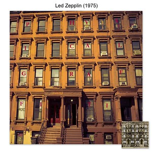 Physical Grafitti by Led Zepplin - Richard Goodwin