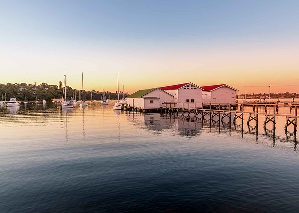 A Peaceful Bay - Susan Moss