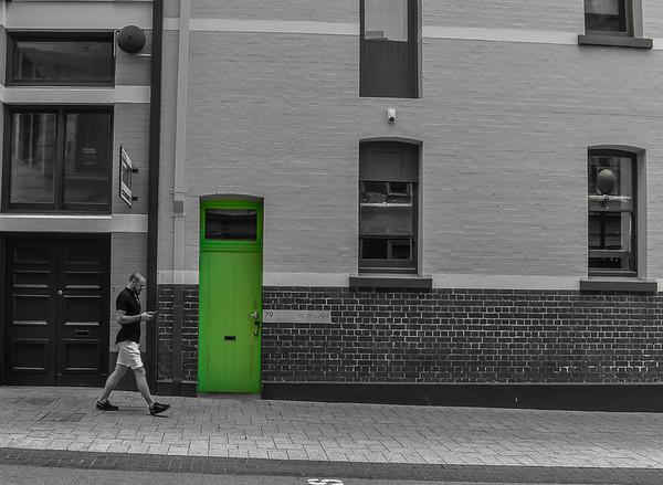 Green Door - Paul Fulara