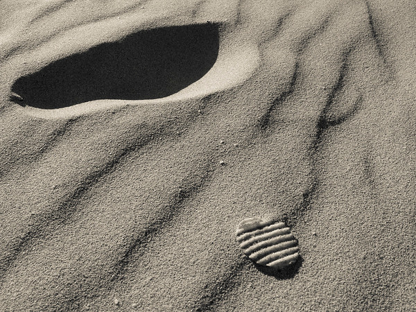 First Chip on the Moon or Beach - Greg Bilton