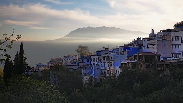 Chefchaouen Evening - Steve Crossley