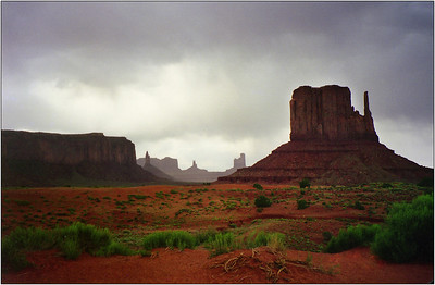 Monument Valley, West Mitten Butte - Kim McAvoy Second place judge's choice and fifth place members' choice