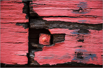 Red Paint - Kim McAvoy Fifth place, members' choice