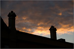 Fire Over Rooftops - Martin Yates<br /> Joint fifth place members' choice
