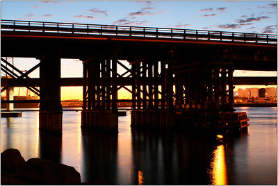 Fremantle Bridge - Hans Wellinger Set - Fourth Place members' choice