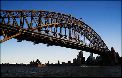 Sydney Harbour Bridge - Kim McAvoy Set - Third place Judge's choice and fifth place members' choice.