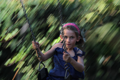 Girl Swinging - Jo Rollinson Second place judge's choice and first place members' choice