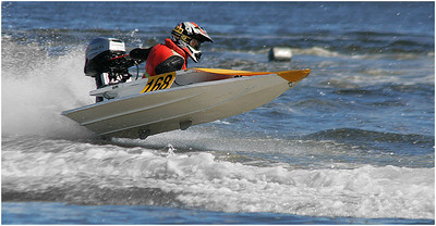 Power Dinghy - Hans Wellinger Equal First Place judge's choice and first place members' choice