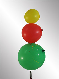Balancing Balloons - Hans Wellinger Set - Third place members' choice.