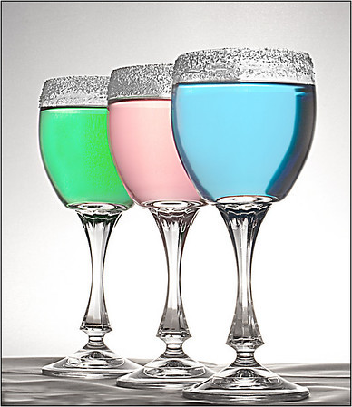 Light Wine - Hans Wellinger<br /> Set - 1st place judge's choice and 1st place members' choice.