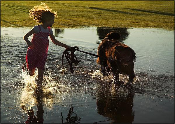 Puddle Jumping - Kim McAvoy