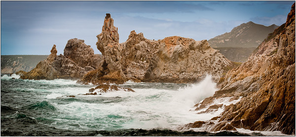 Rugged Coast - Ray Ross Sixth place members' choice.