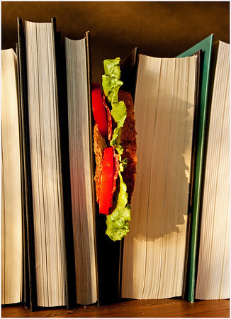Sandwiched Between Pages - Richard Goodwin<br /> Third place members' choice.