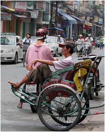 Street Scene in Saigon - Ann Jones<br /> Sixth place members' choice - Set.