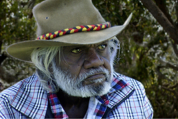Old Aboriginal - Phil Burrows<br /> Fifth place members' choice.