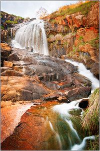 Sunset at Lesmurdie Falls - Ray Ross Sixth place members' choice - Set.