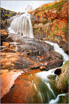 Sunset at Lesmurdie Falls - Ray Ross<br /> Sixth place members' choice - Set.