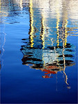 Wharf Reflection - Phil Burrows<br /> Equal fifth place members' choice.