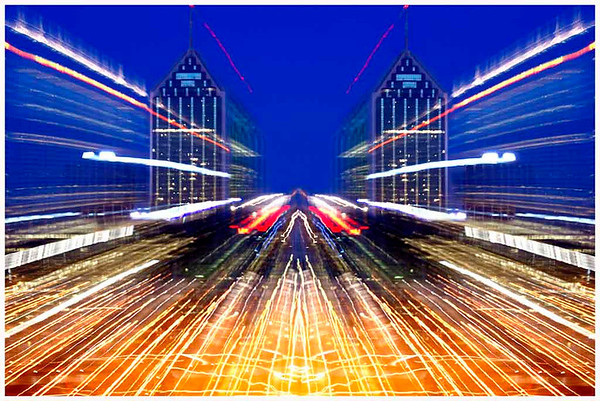 Night City Symmetry - Phil Burrows<br /> Second place judge's choice and equal third place members' choice - Set.