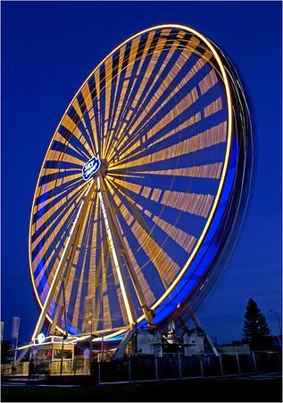 Ferris Wheel - Phil Burrows<br /> Third place members' choice.