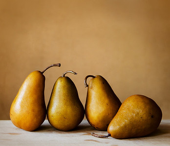 Four Pears - Kim McAvoy First place members' choice and first place judge's choice.