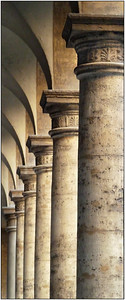 Roman Columns - Lee Bickford Equal fifth place members' choice - Set.