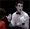 Mime Artist - Phil Burrows<br /> Fourth place members' choice.